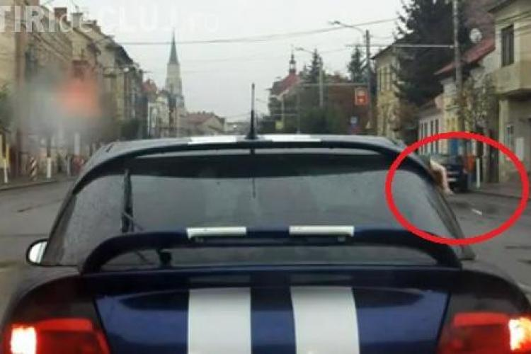 Aruncam tigarile pe geamul masinii sau chiar ne golim scrumierele pe strada! Sunt clujenii necivilizati? VIDEO