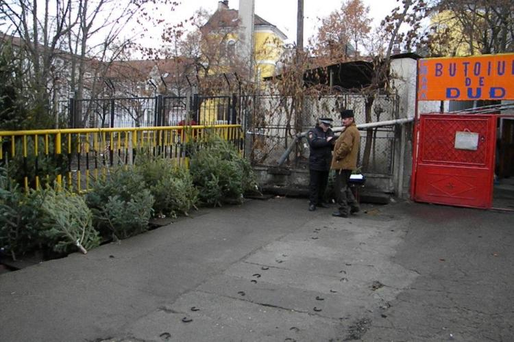 Brazi confiscati de langa Piata Mihai Viteazu VIDEO si FOTO
