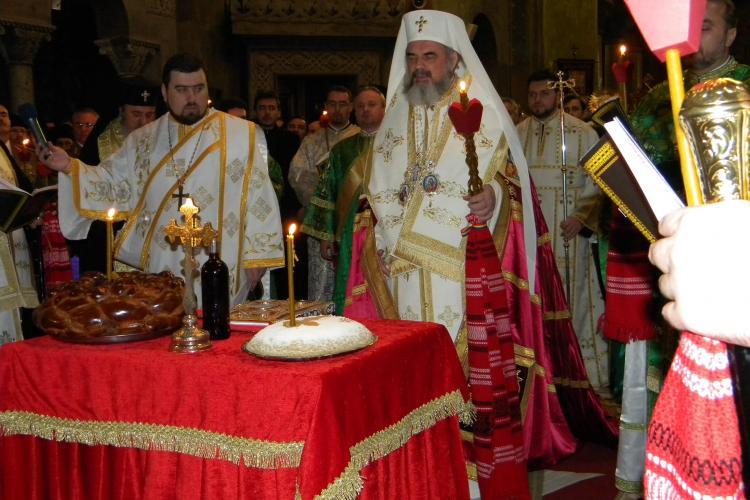Patriarhul Daniel la Cluj! Prea Fericitul oficiaza slujba inchinata Sfantului Nicolae VIDEO