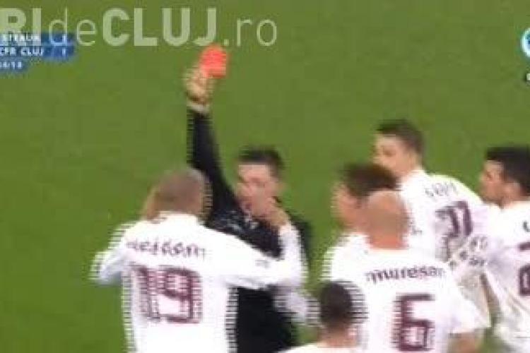 Muresan si Weldon, eliminati in meciul cu Steaua! Clujenii au stricat un derby frumos VIDEO
