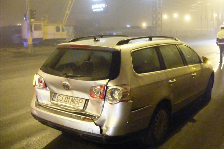 Un sofer de la Fany a facut accident pe Traian Vuia, dar a plecat pentru ca avea un orar de respectat