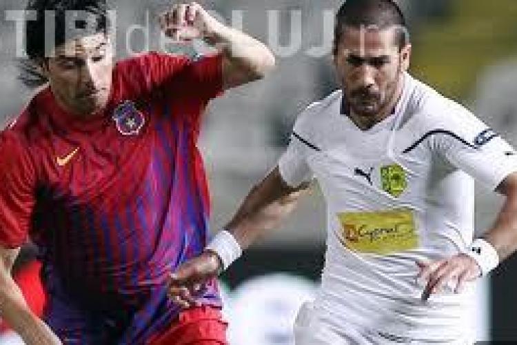 Steaua - Larnaca 3-1 - REZUMAT VIDEO Gol Rusescu, Demetriou si Nikolic de doua ori