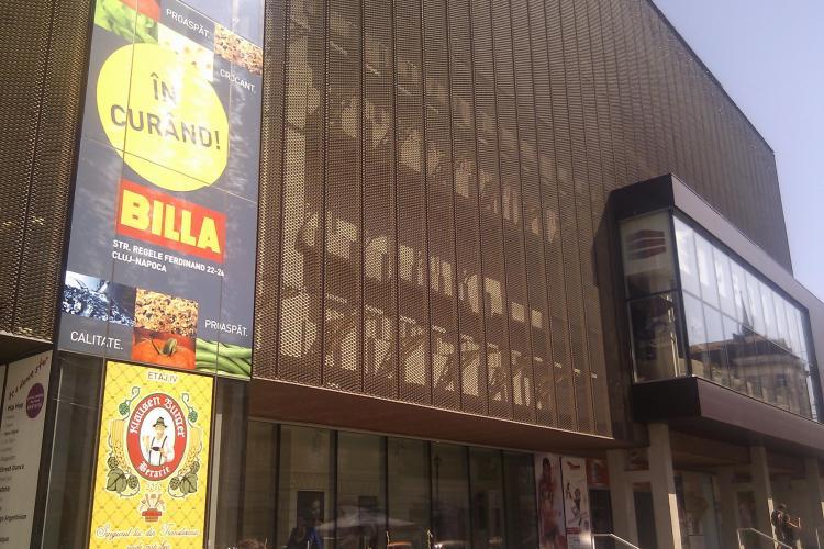 Supermarketul Billa Central, amendat cu 30.000 de lei pentru marfa expirata si reetichetata