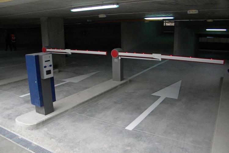 Parkingurile din Marasti, strada Fabricii, si Manastur, strada Mehedinti, finalizate in proportie de 80%