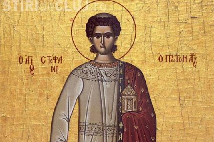Astazi este sarbatorit Sfantul Stefan