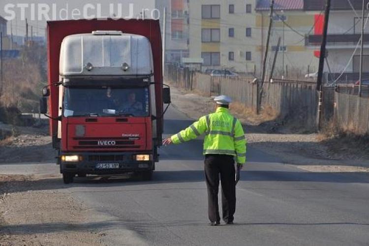 TIR -urile nu au voie in Cluj-Napoca pe canicula si ninsoare