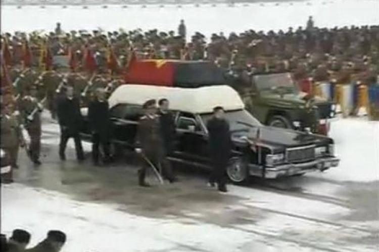 Funeraliile dictatorului nord-corean au inceput in aceasta dimineata