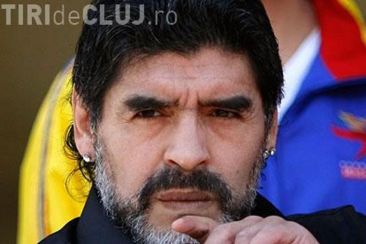 Maradona, amendat dupa conflictul cu Olaroiu