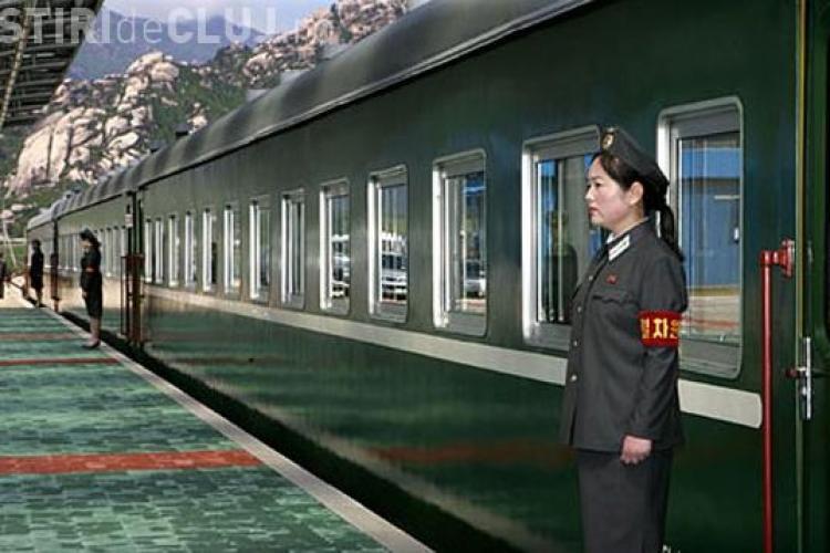 """Liderul nord-coreean circula cu un tren """"invizibil"""""""