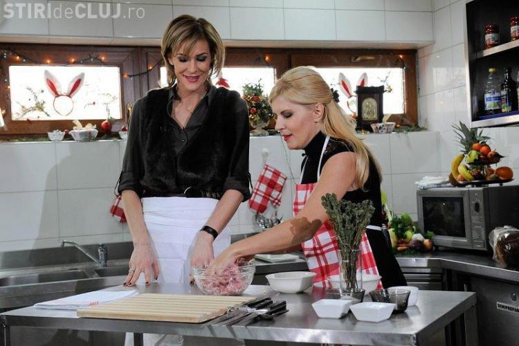 Elena Udrea, bucatareasa pe Facebook! Ministrul a gatit sarmale si salata boeuf FOTO