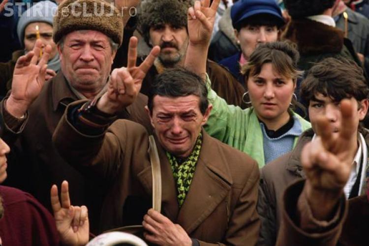 Misterul unei fotografii realizata la Revolutia din 1989 si care a castigat un Pulitzer! Afla de ce plange acest barbat