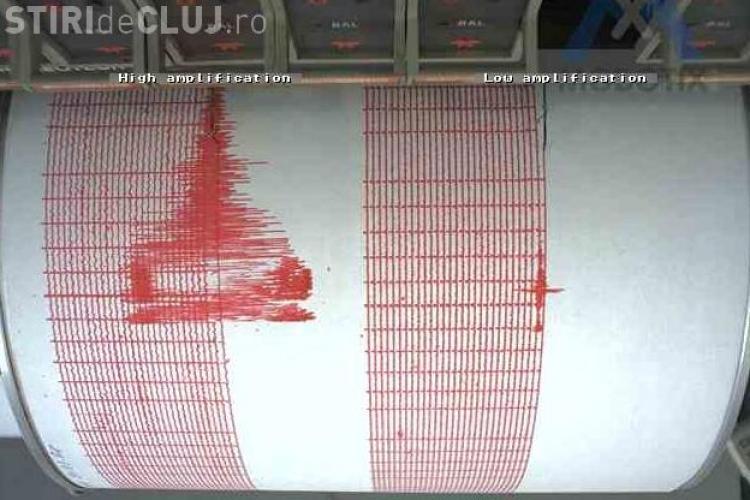 Cutremur de 4,4 grade pe scara Richter in Romania