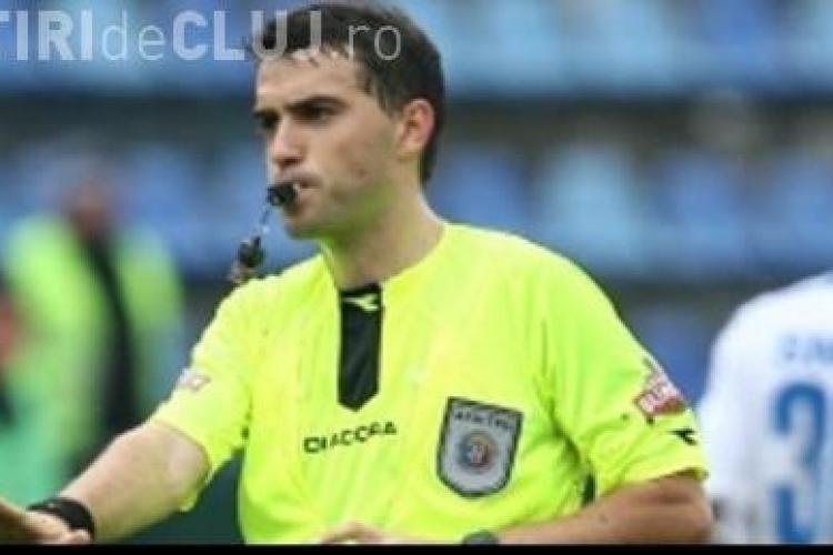 Ovidiu Hategan recunoaste ca a gresit in meciul Astra - CFR Cluj