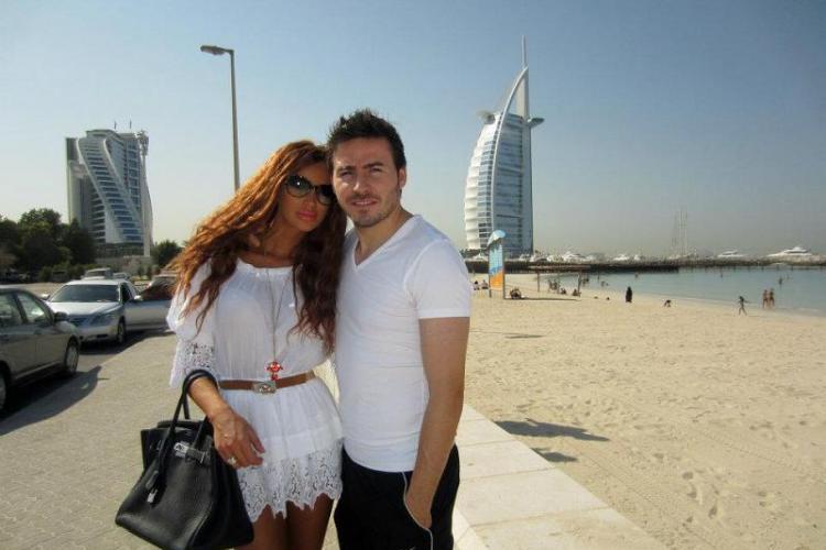 """Bianca Dragusanu si """"Printul"""" Cristea au petrecut Revelionul in Dubai Vezi FOTO"""