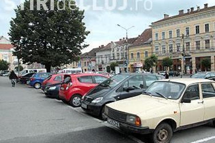 Clujenii vor avea liber la parcari in centru si de revelion