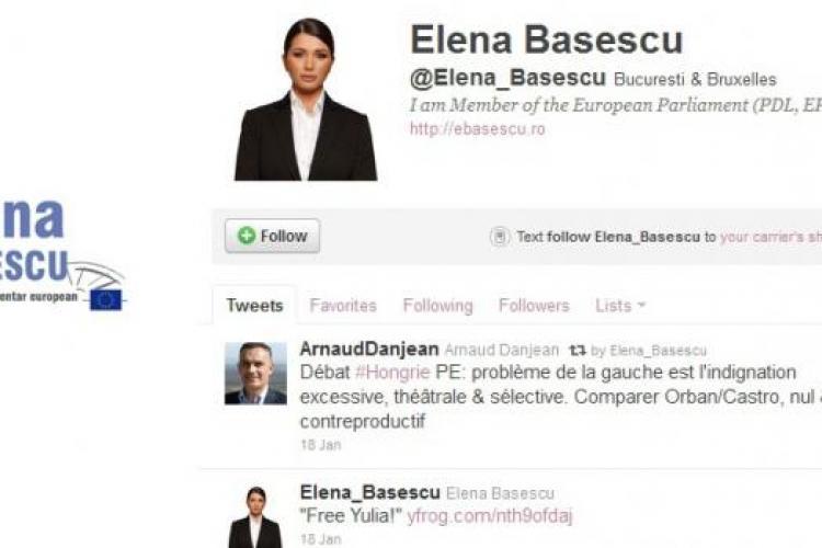 Romanii protesteaza, EBA sta pe Twitter si face haz