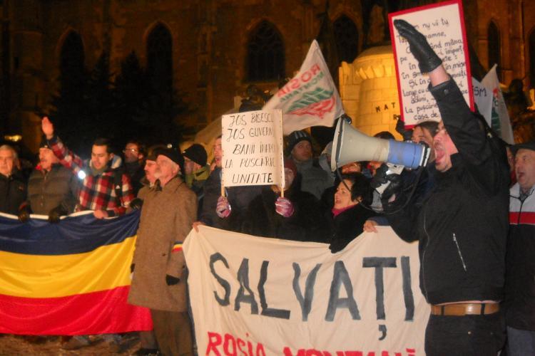 """Protestele s-au reluat in Piata Unirii sub """"bagheta"""" PSD: """"Daca va pasa, nu stati acasa!"""" VIDEO si FOTO"""