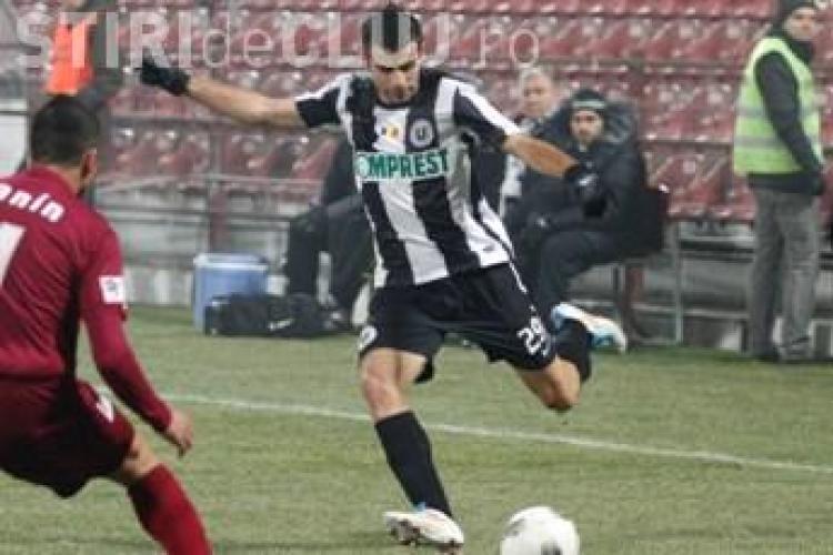 U Cluj are un jucator la nationala. Piti l-a convocat pe Grecu pentru cantonamentul din Turcia