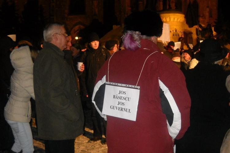 5.000 de membrii USL protesteaza in Bucuresti