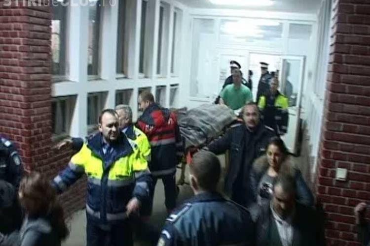 "Tiganii au ""invadat"" spitalul din Dej! Oamenii cautau un apropiat accidentat in Reteag VIDEO"