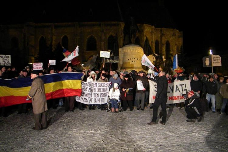 Mircia Giurgiu cere ca protestatarii din Piata Unirii sa primeasca ceai