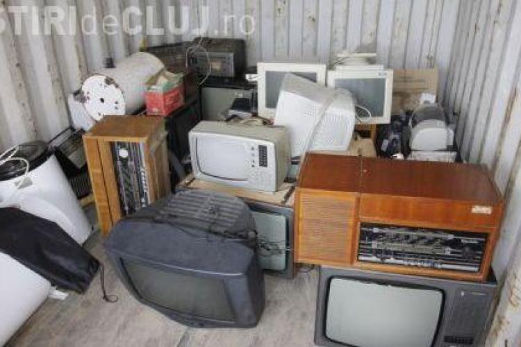 Vreti sa scapati de electronicele stricate? Sambata va fi marea debarasare. Vezi unde sunt punctele de colectare in Cluj-Napoca