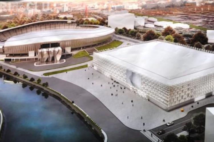 Odata cu noua Sala Polivalenta, Clujul va avea si patinoar acoperit VIDEO