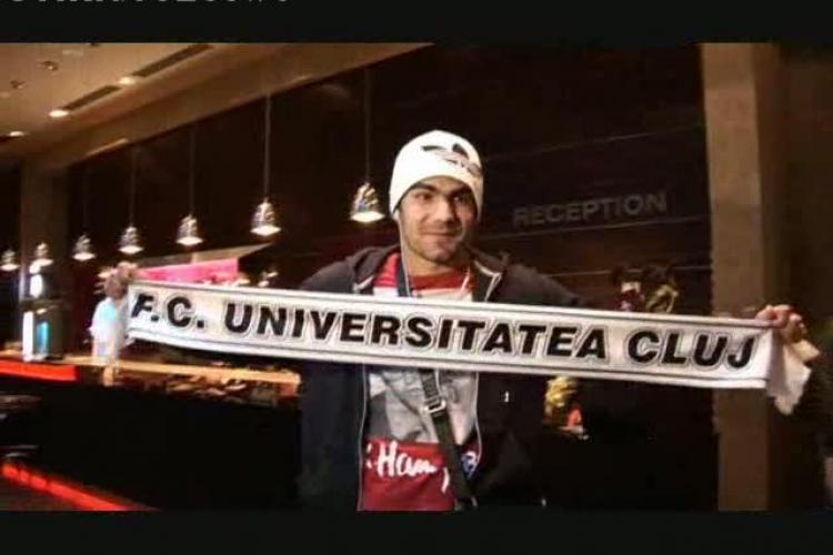 Bornescu a dat primul interviu de cand a ajuns la U Cluj: Stiu despre rivalitatea cu CFR Cluj VIDEO