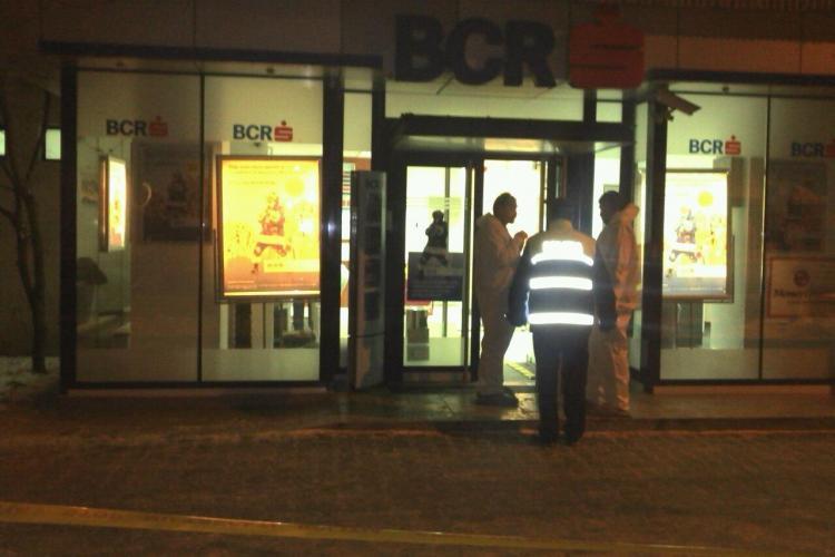 Dej: Tentativa de jaf la BCR VIDEO