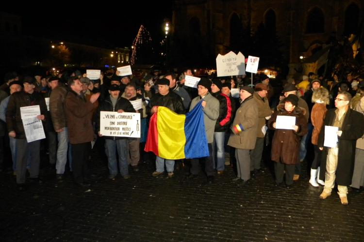 "La Cluj a aparut ""Asociatia Protestatarilor - Ianuarie 2012""! Vezi ce isi propune sa faca"