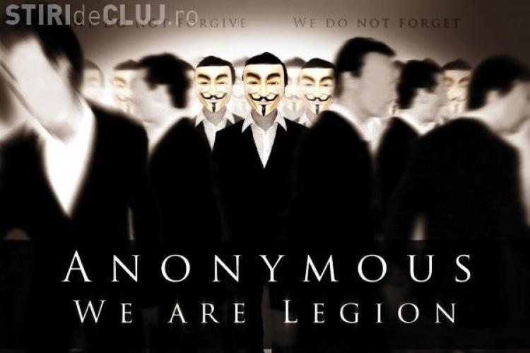 Hackerii Anonymous au trimis un nou mesaj Romaniei: Urmeaza dictatura pe internet VIDEO