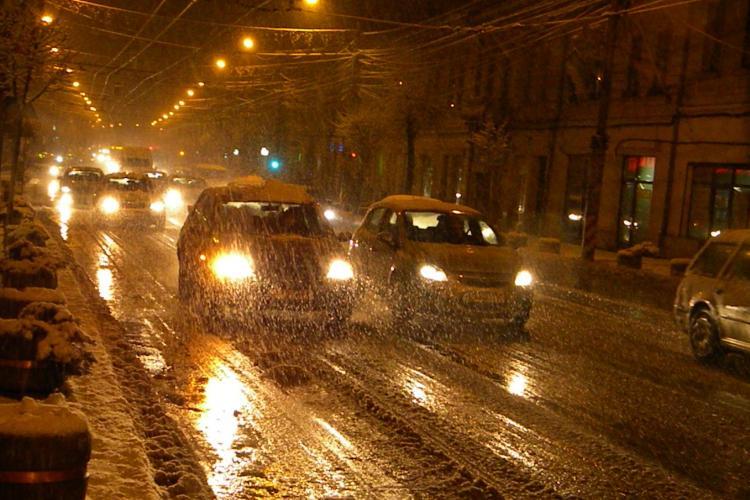 Firmele de deszapezire din Cluj-Napoca, amendate pentru actiunea de miercuri seara VIDEO