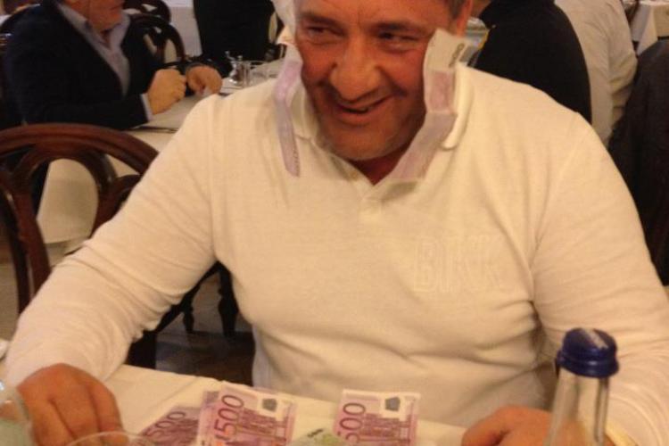 """Bisnitarul Nelson Mondialu """"mananca"""" mii de euro cu cutitul si furculita FOTO"""