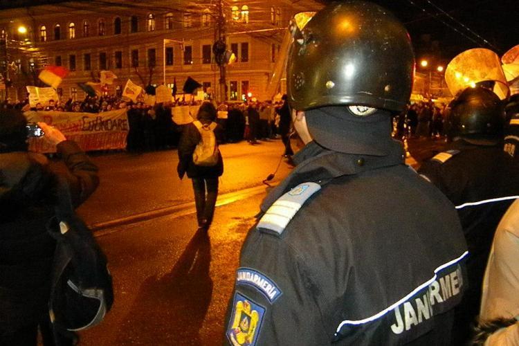 Jandarmii clujeni care au castigat procesul cu ministerul de Interne, dati din nou afara