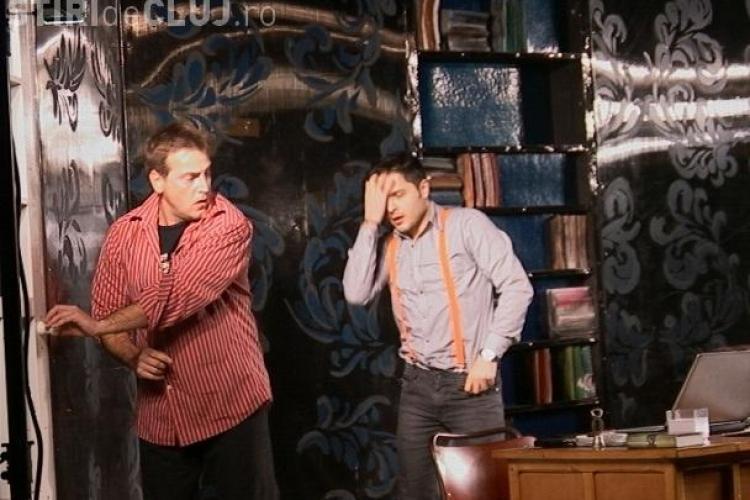 "Liviu Varciu, actor in piesa ""Menage a trois"", jucata la la Dej cu sala plina VIDEO"