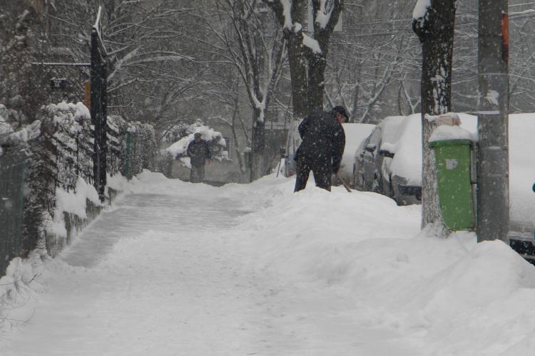 Nu mai ninge la Cluj, dar va fi frig de crapa pietrele PROGNOZA METEO PE 3 ZILE