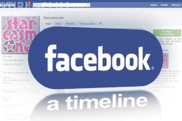 """Nimeni nu vrea Timeline pe Facebook! 92% dintre utilizatori cred ca e """"periculos"""""""