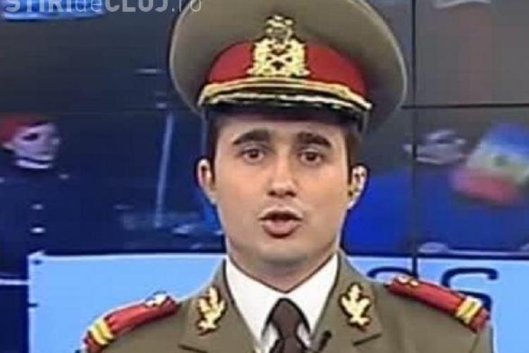 Un ofiter de la Campia Turzii a protestat in uniforma in Bucuresti! Vezi ce a declarat Alexandru Gheorghe VIDEO