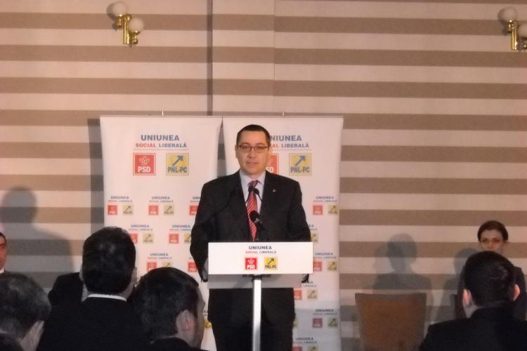 Ponta despre declaratiile presedintelui: Basescu e rupt de Romania