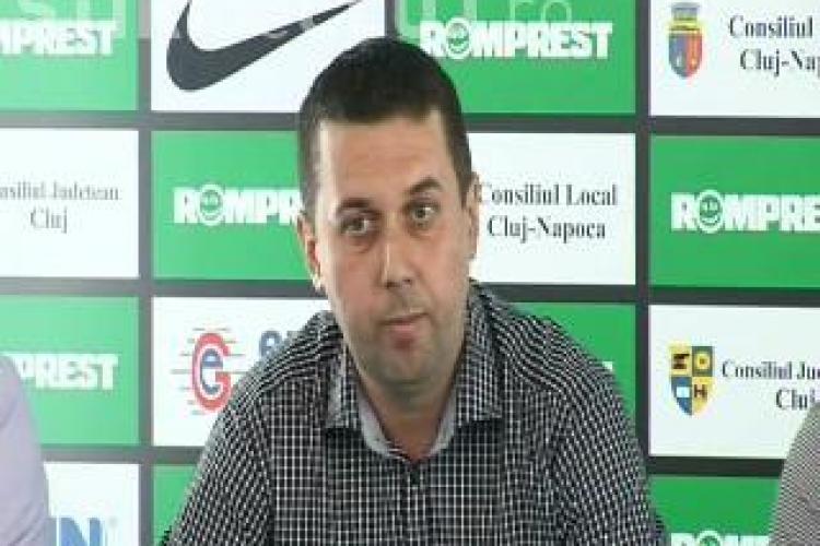Directorul executiv al U Cluj, Cosmin Irimies, numit in locul lui Baba in Consiliul de Administratie al TVR