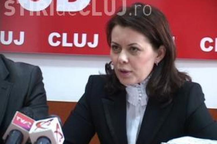 Aurelia Cristea, vicepresedinte PSD Cluj, despre demisia lui Apostu: Il va ajuta la eliberare
