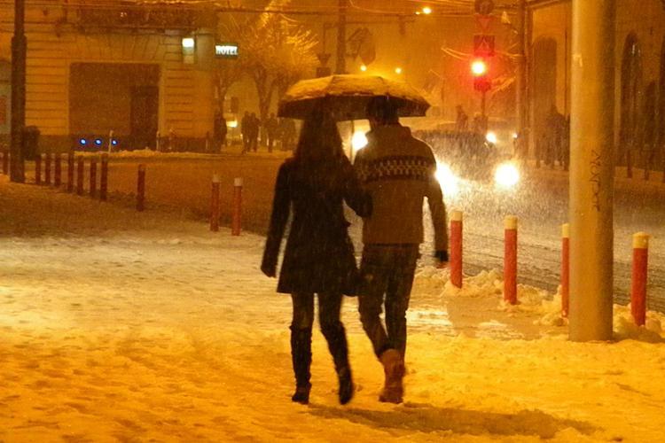 PROGNOZA METEO CLUJ! Pana duminica seara va ninge abundent, iar luni va fi ceata