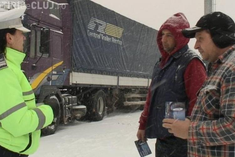 Radu Moisin: TIR -urile au fost blocate pe dealul Feleacului, pentru ca au refuzat sa mearga pe Centura Valcele - Apahida