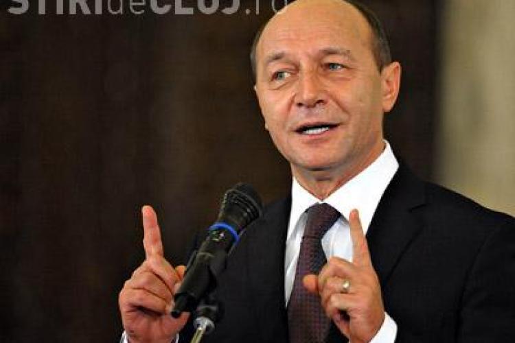 Traian Basescu este la Predeal in acest weekend