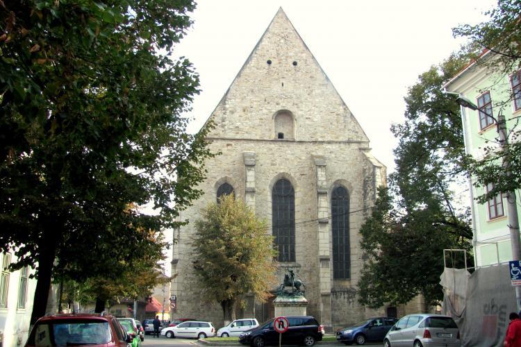 Strada Kogalniceanu, pietonala de la cladirea Colegiului Academic si pana la bastionul Croitorilor