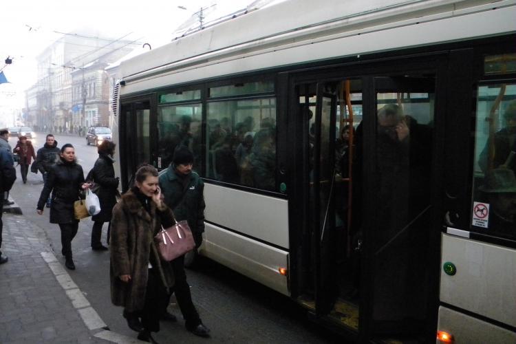 RATUC primeste 5,5 milioane de lei pentru transportul subventionat al studentilor