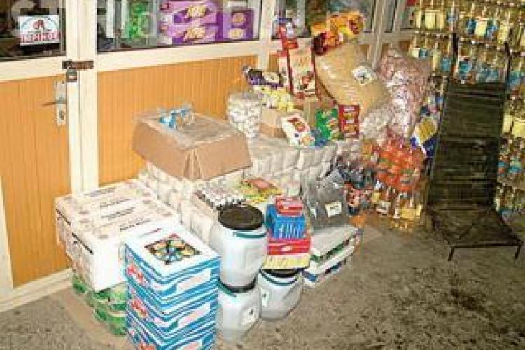 PDL Cluj a colectat 750 de kg de alimente pentru sinistrati