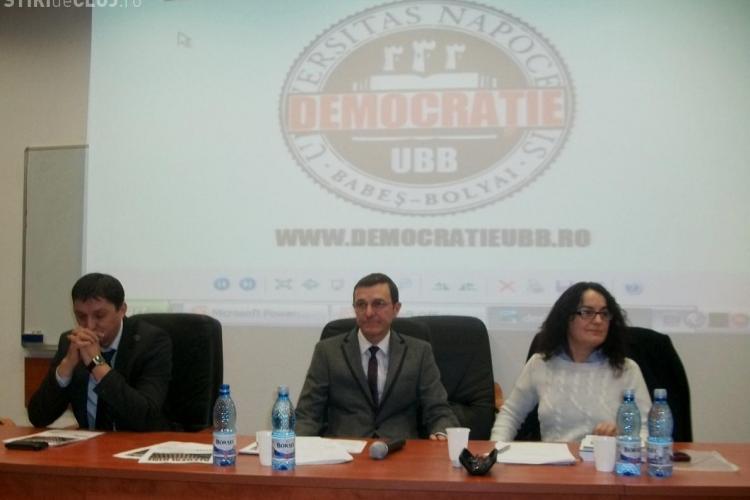 Vezi ce au spus la prima dezbatere candidatii pentru functia de rector al UBB din Cluj-Napoca