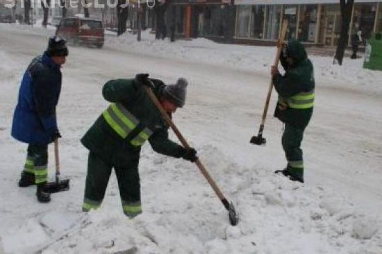 Firme din Cluj, amendate pentru ca si-au tinut angajatii la -20 de grade Celsius
