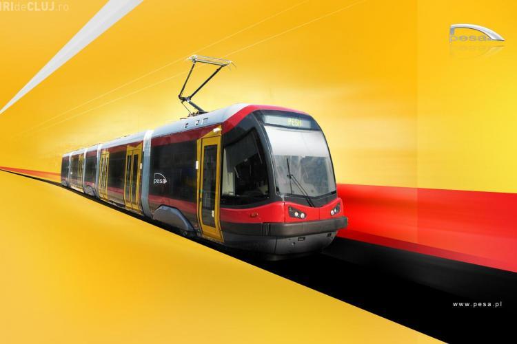 Tramvaiul polonezilor, respins pentru ca nu avea usa dubla! Varianta: tramvaiul de la Arad, mai scump cu 500 de mii de euro